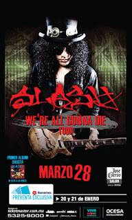 Slash en Mexico
