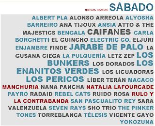 Cartel Sabado Vive Latino 2011