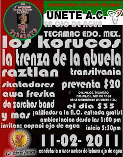 Los Korucos en Tecamac