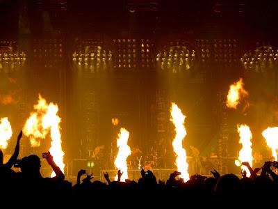 Концерт Rammstein в Киеве
