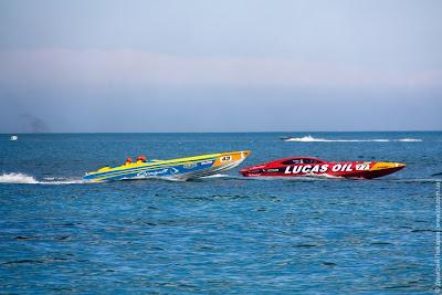 Гонки моторных лодок в Ялте (Powerboat P1)
