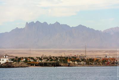 Египет, Хургада. Прогулка на катере