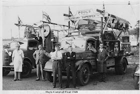 J&F Pools Carnival Float 1948