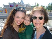 Me, Noah, Gran at the Park