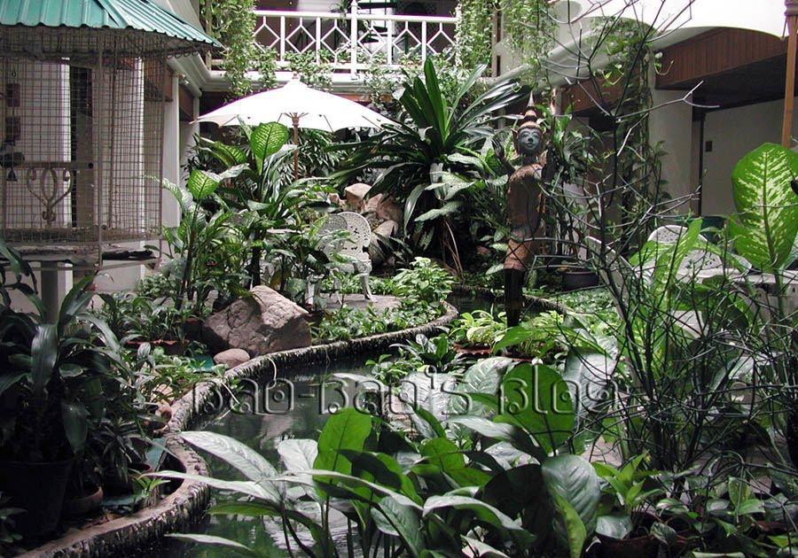 Bao bao 39 s blog accommodations part 7 regency park bangkok for Indoor botanical gardens