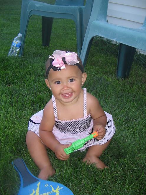 Aliya 10 months!