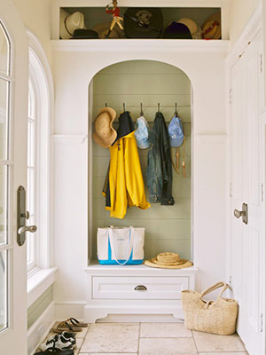 Some home truths when home is a mud room for Mud room addition ideas