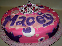Princess Macey Birthday Cake
