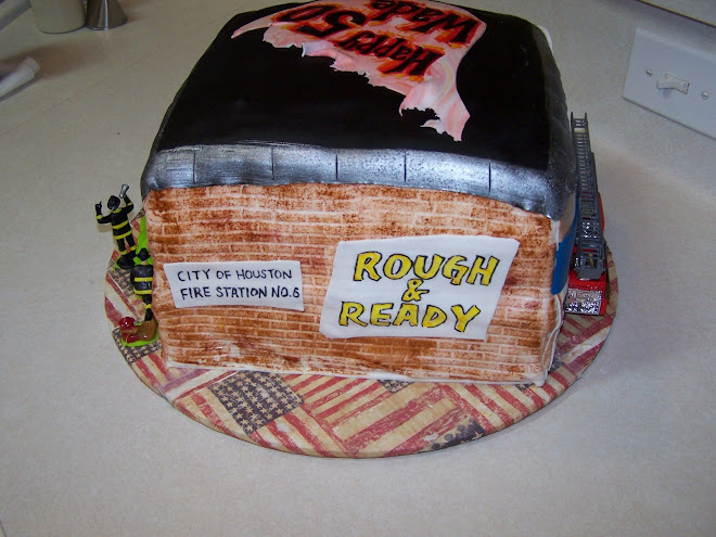 Four Alarm Fire Cake