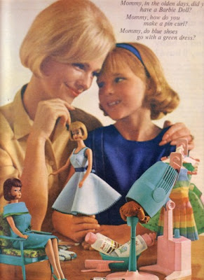 This Ad Features Two American Girl Barbies