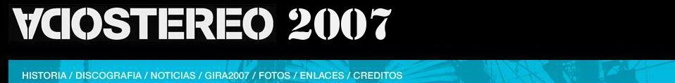 Soda Stereo 2007