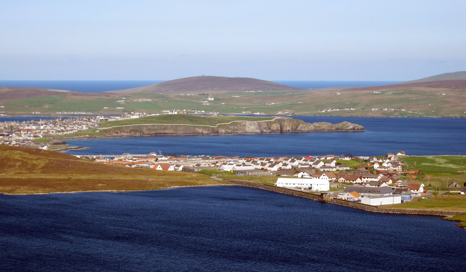 in bressay Bressay shelters lerwick from the east and can be reached by car ferry from the  town in under ten minutes noss lies off the east coast of bressay.