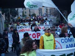 13DICEMBRE 2008 Manifestazione contro il potenziamento a carbone .Clicca per vedere il video.