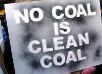 """""""Il carbone pulito non esiste"""" """"Carbone nemico dell'umanità"""""""