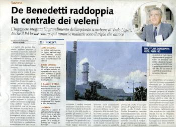 """LINK A QUOTIDIANI E BLOG a proposito delle """"DIECI DOMANDE """" all' Ing De Benedetti"""