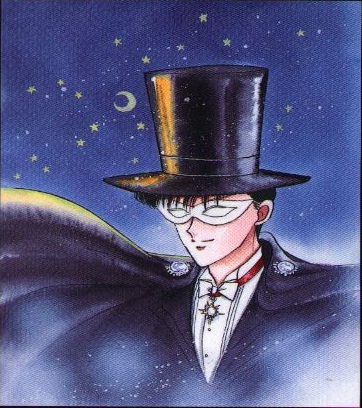 Mamoru Chiba is the only male main character in Sailor Moon.