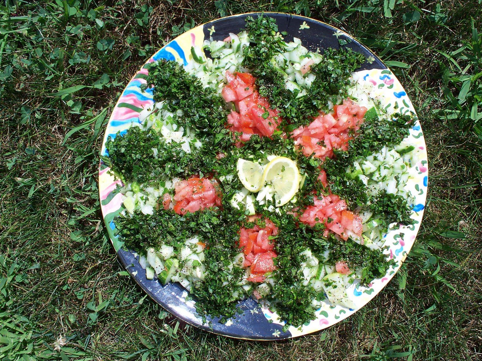 [Tabbouleh+Cucumber+Salad]