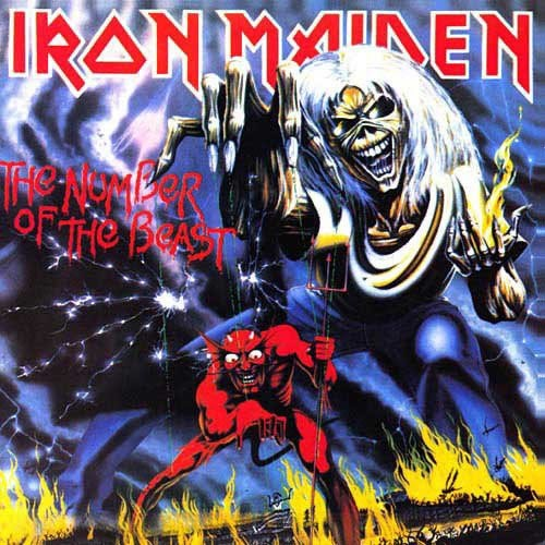 general stars iron maiden the number of the beast. Black Bedroom Furniture Sets. Home Design Ideas