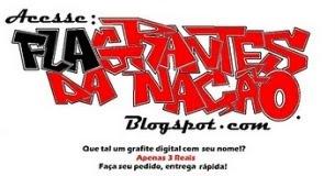 Grafite digital com seu nome!