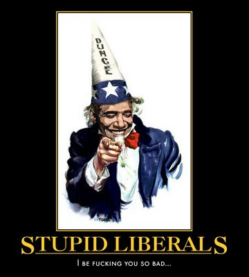 stupid liberals