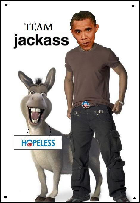 democrat jackass obama 