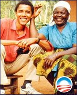OBAMA AND PATERNAL GRANDMA