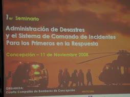 Seminario realizado en concepcion 11 nov.2008