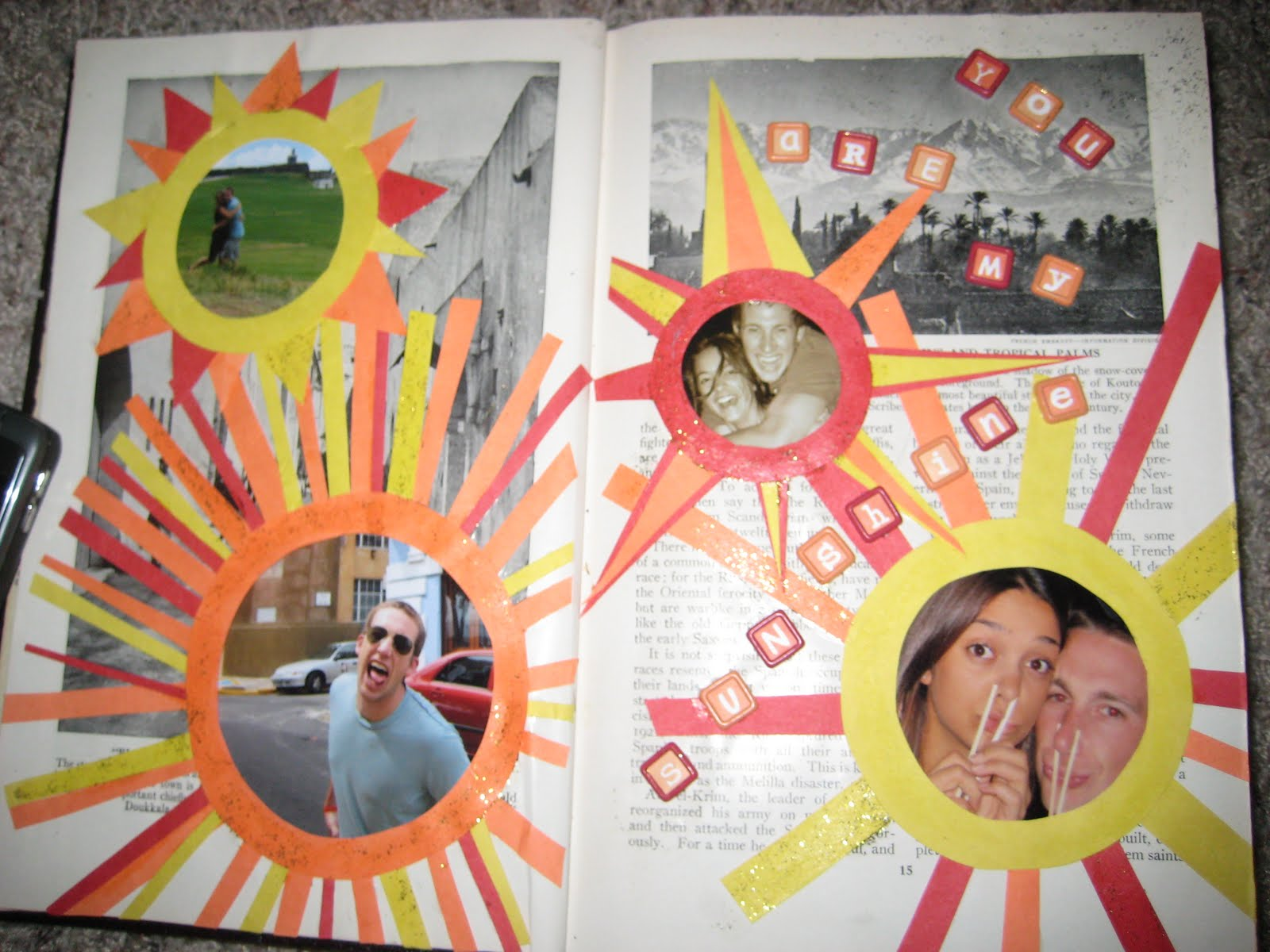 Scrapbook ideas recycled - C R A F T 18 Recycled Book