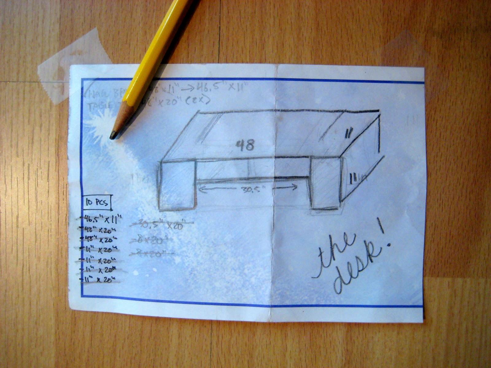 C.R.A.F.T. in progress: Suspended Desk - C.R.A.F.T.
