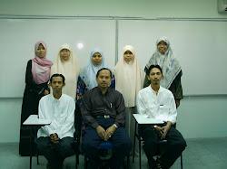 Student Postgraduate JAPI 2005-2007 Bersama dengan Prof. Madya Dr. Mohd Fauzi Hamat