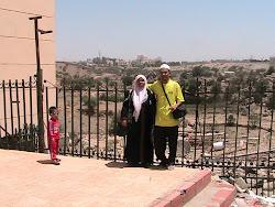 Bersama  Muhammad Mukhlis dan Hubby di taif 2007