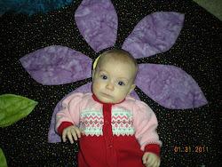 Lovin' Grandma Mary's quilt