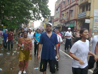 sajeesh chennai marathon 2009