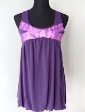 A 1089 - Purple bubble top