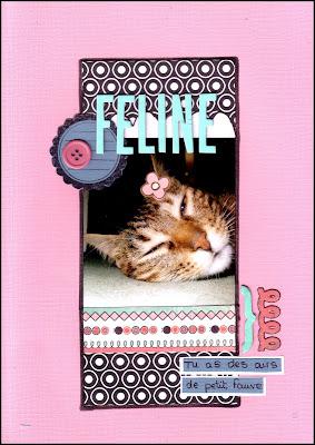 Scrapbooking en folie ^^ - Page 34 Feline