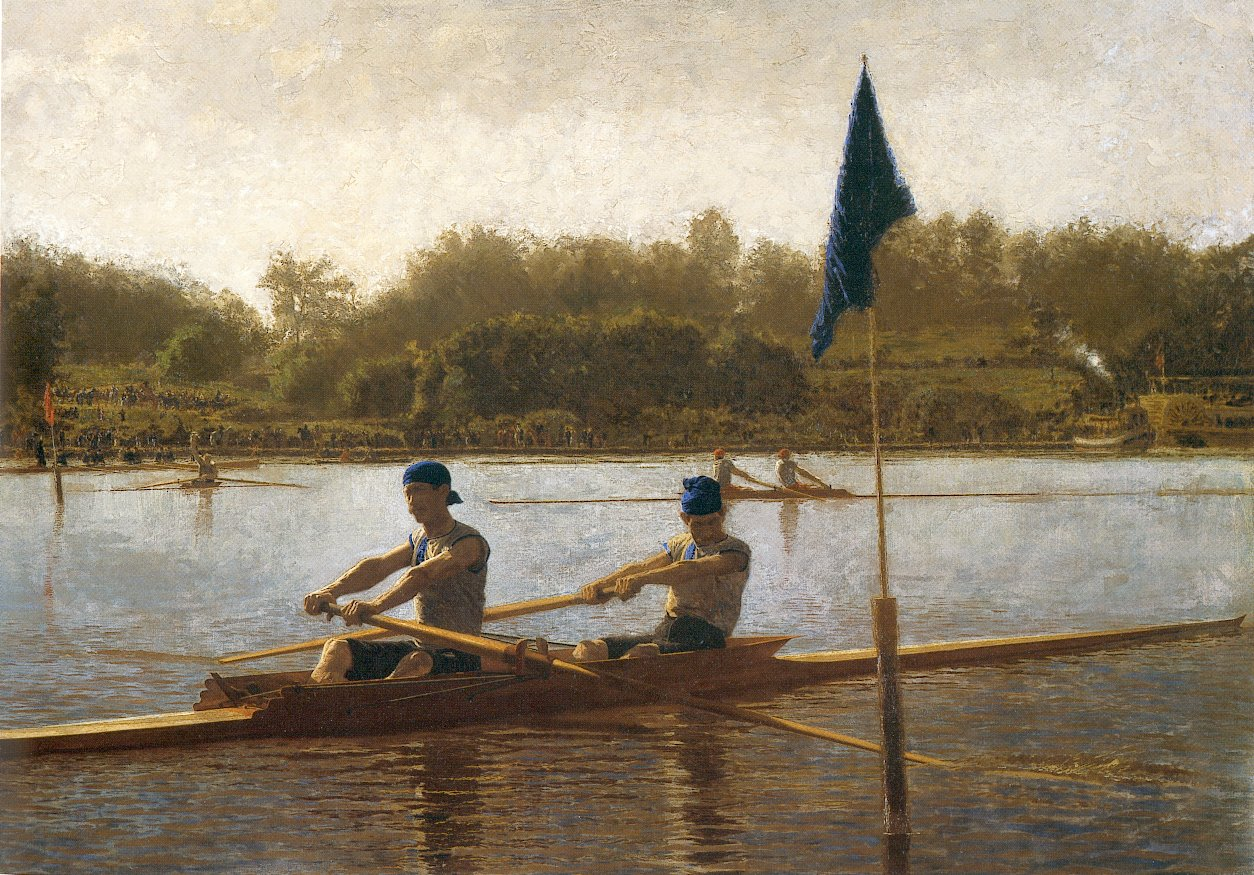 The biglin brothers turning the stake boat thomas eakins%25255B1%25255D omsk girls nude girl nude masturbating