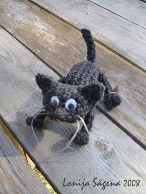 tamborēts kaķis