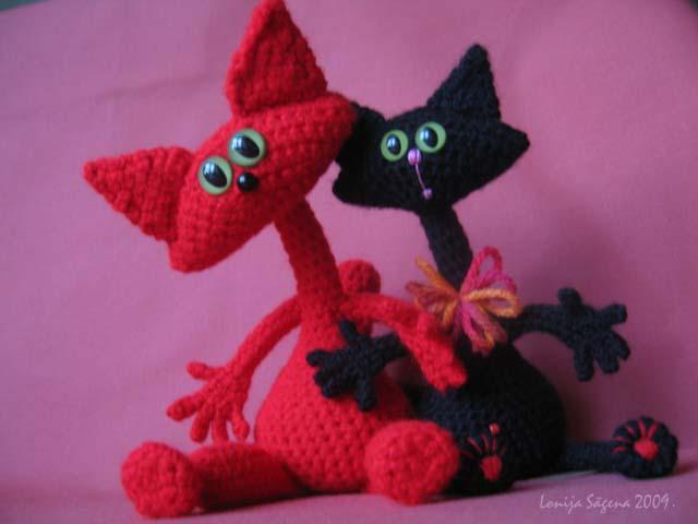 tamborēts kaķis, cat dolls,lofonsa