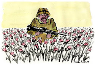 Obama in the Taliban poppy field