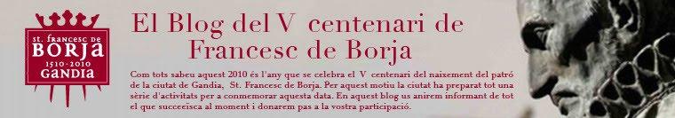 El Blog del Vé centenari de San Francesc de Borja