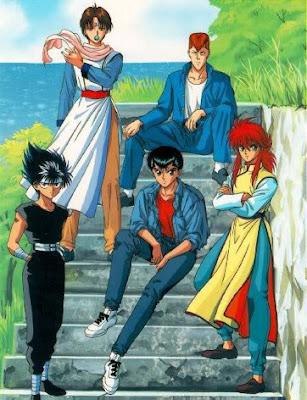 yuyu hakusho team