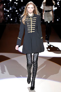 military style coat temperley london