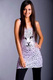 leopard zoe dress