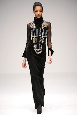 Mary Kratrantzou london fashion week aw09