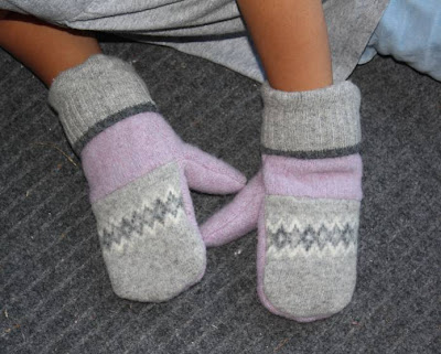 FELTED FUN FUR MITTENS PATTERN « SHOP FOR YOU