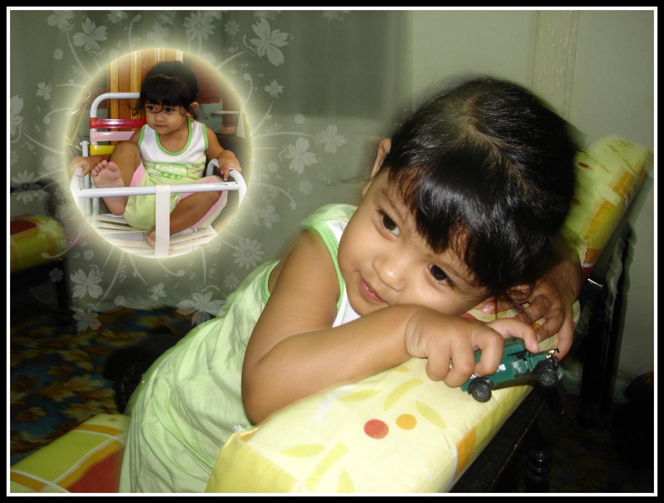 sweet cute little girl