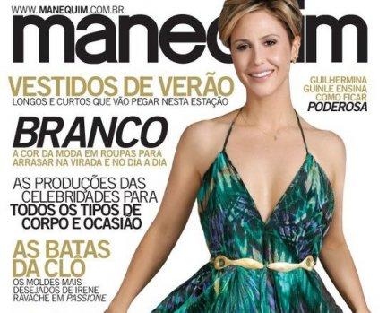 Imprensa - Revista Manequim By Regina Silveira: ESTAMPAS 2011.