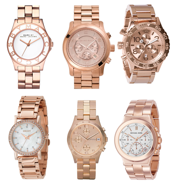 Rose Gold Watch Trend Rose Gold Watches