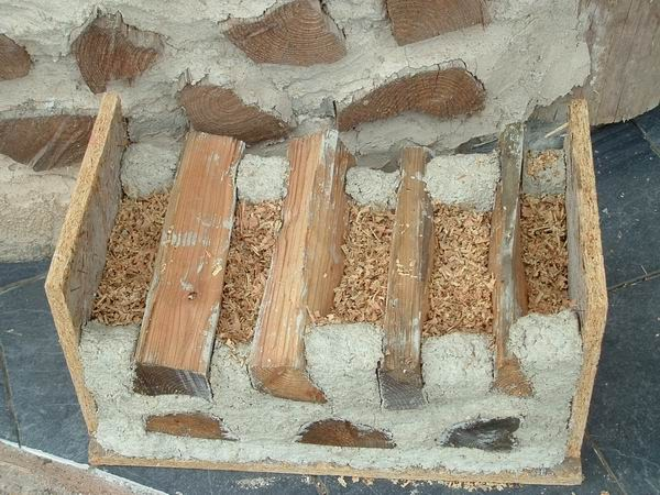 bricolage pas cher la maison en bois corde. Black Bedroom Furniture Sets. Home Design Ideas
