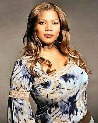Queen Latifa looking do a ble